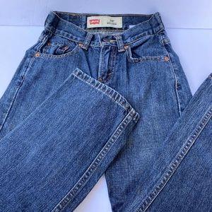 LEVI'S 550 Boys Jeans Size 8 Slim